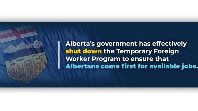 Alberta - Changes to the Temporary Foreign Worker (TFW) Program