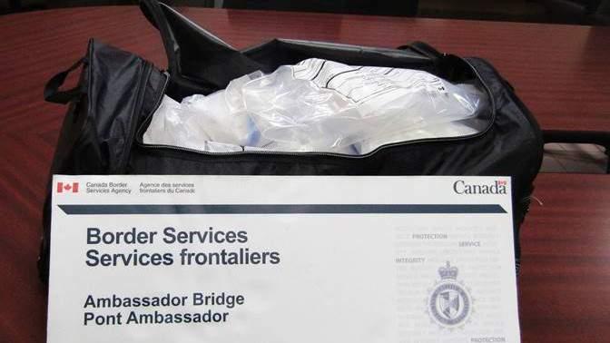 Officials seize 21 kilograms of suspected methamphetamine at Ambassador Bridge