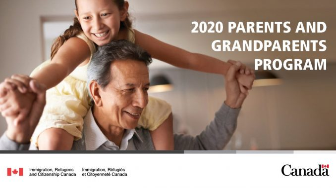 Government announces details for opening of 2020 Parents and Grandparents Program