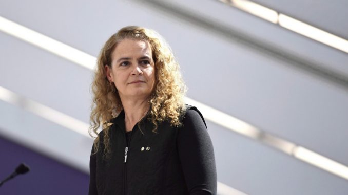 Governor General Julie Payette resigns