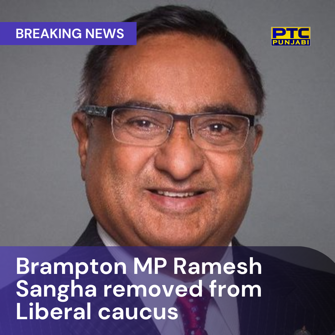 Brampton MP Ramesh Sangha dropped from Liberal caucus