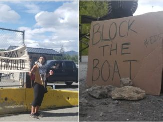 Block the boat