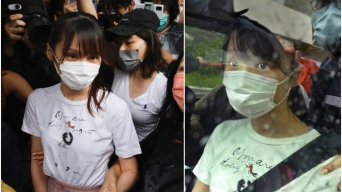 Hong Kong pro-democracy activist