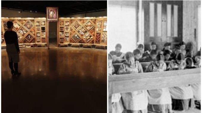 The history of residential schools