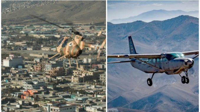 Former Afghan Air Force